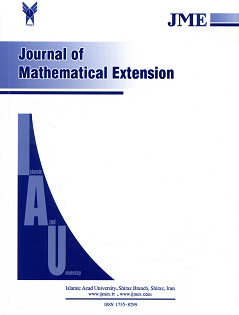 Journal of Mathematical Extension (JME)